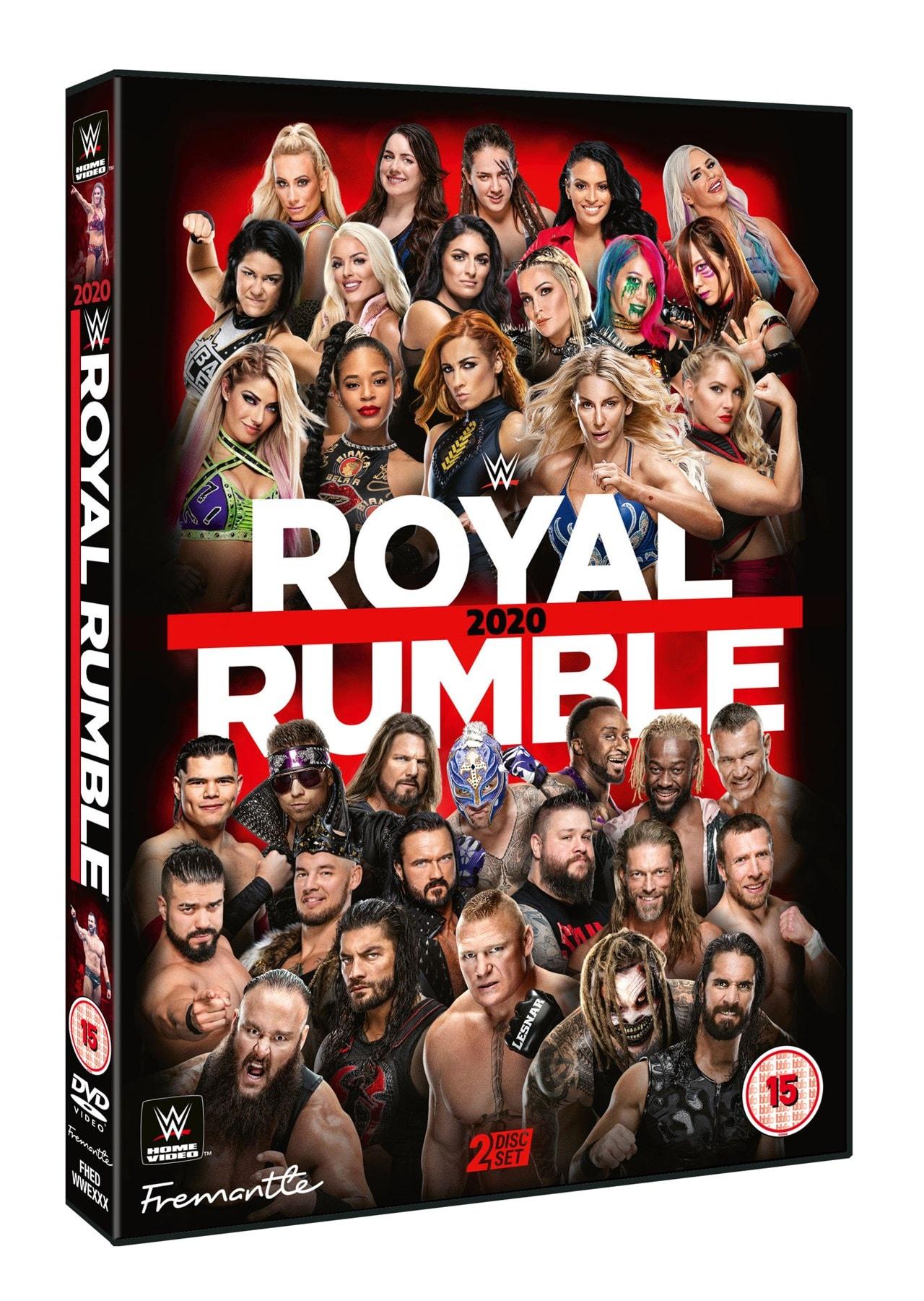 WWE: Royal Rumble 2020 - 2