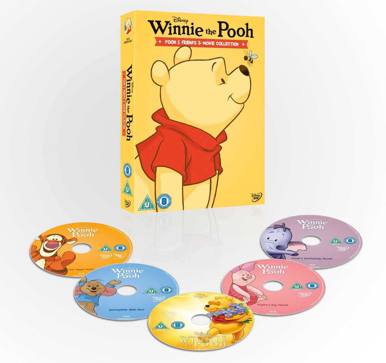 Winnie the Pooh: Pooh & Friends - 5-movie Collection - 3