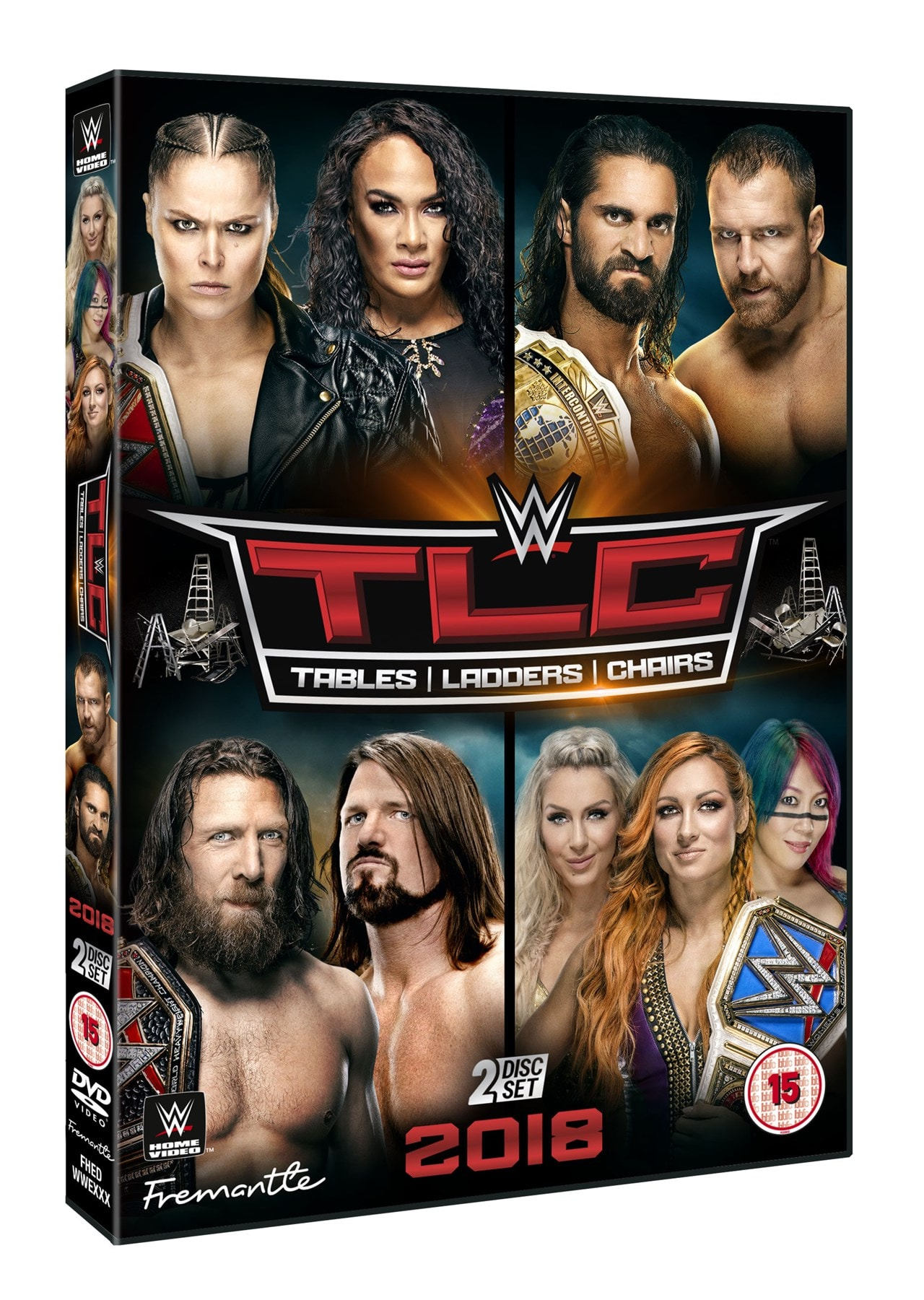 WWE: TLC - Tables/Ladders/Chairs 2018 - 1