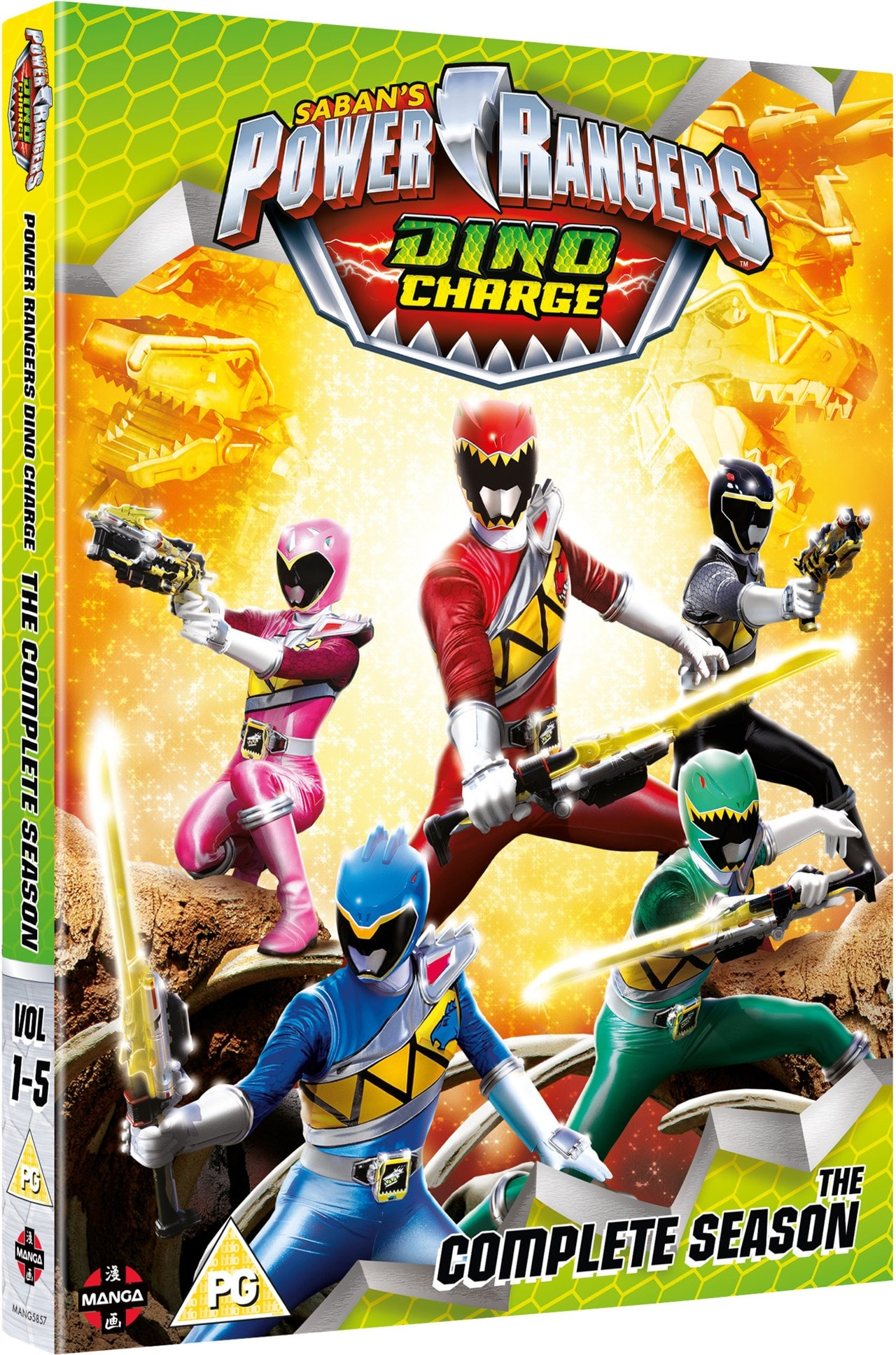 Power Rangers Dino Charge: The Complete Season - 2