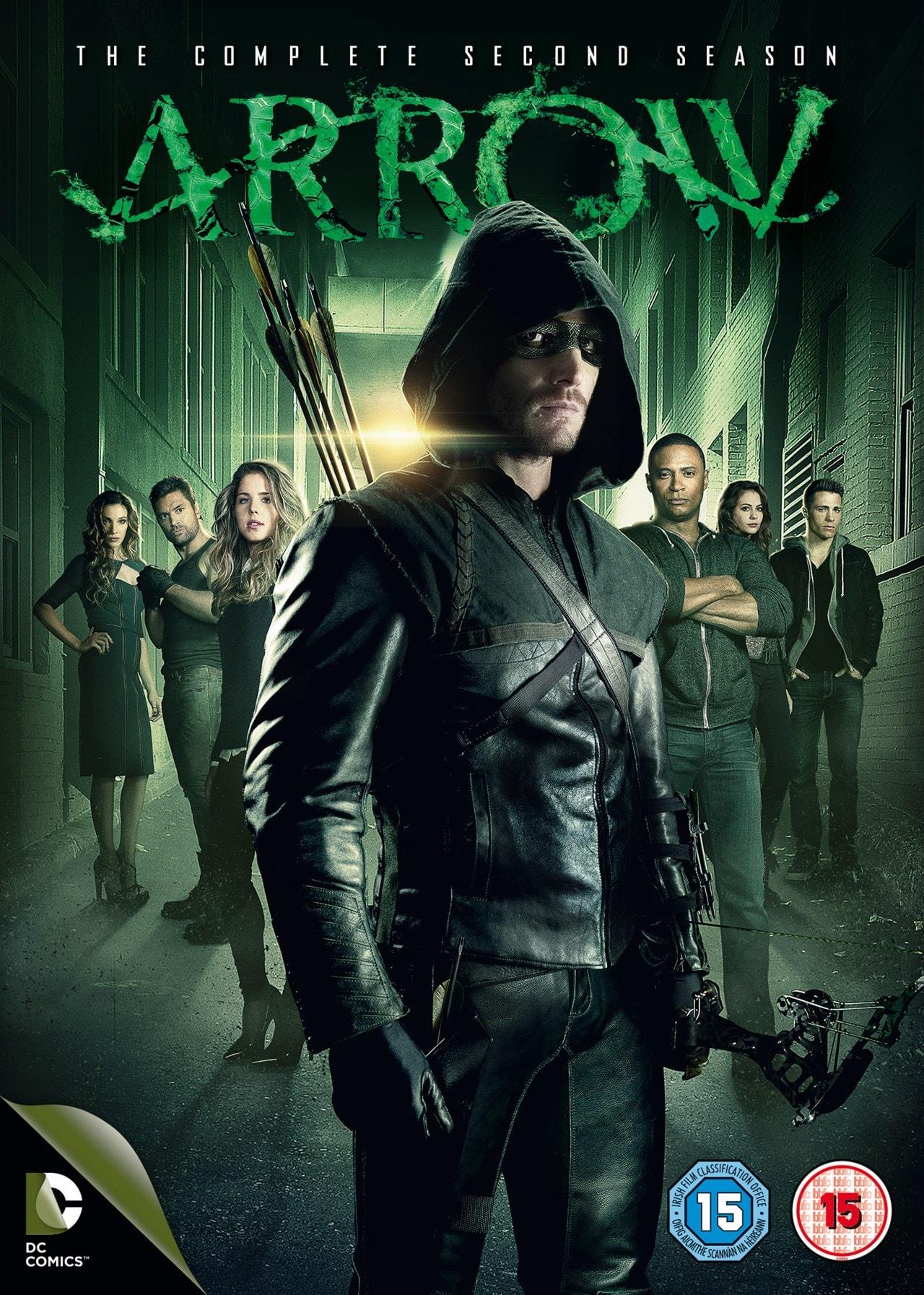 Arrow: The Complete Second Season - 1