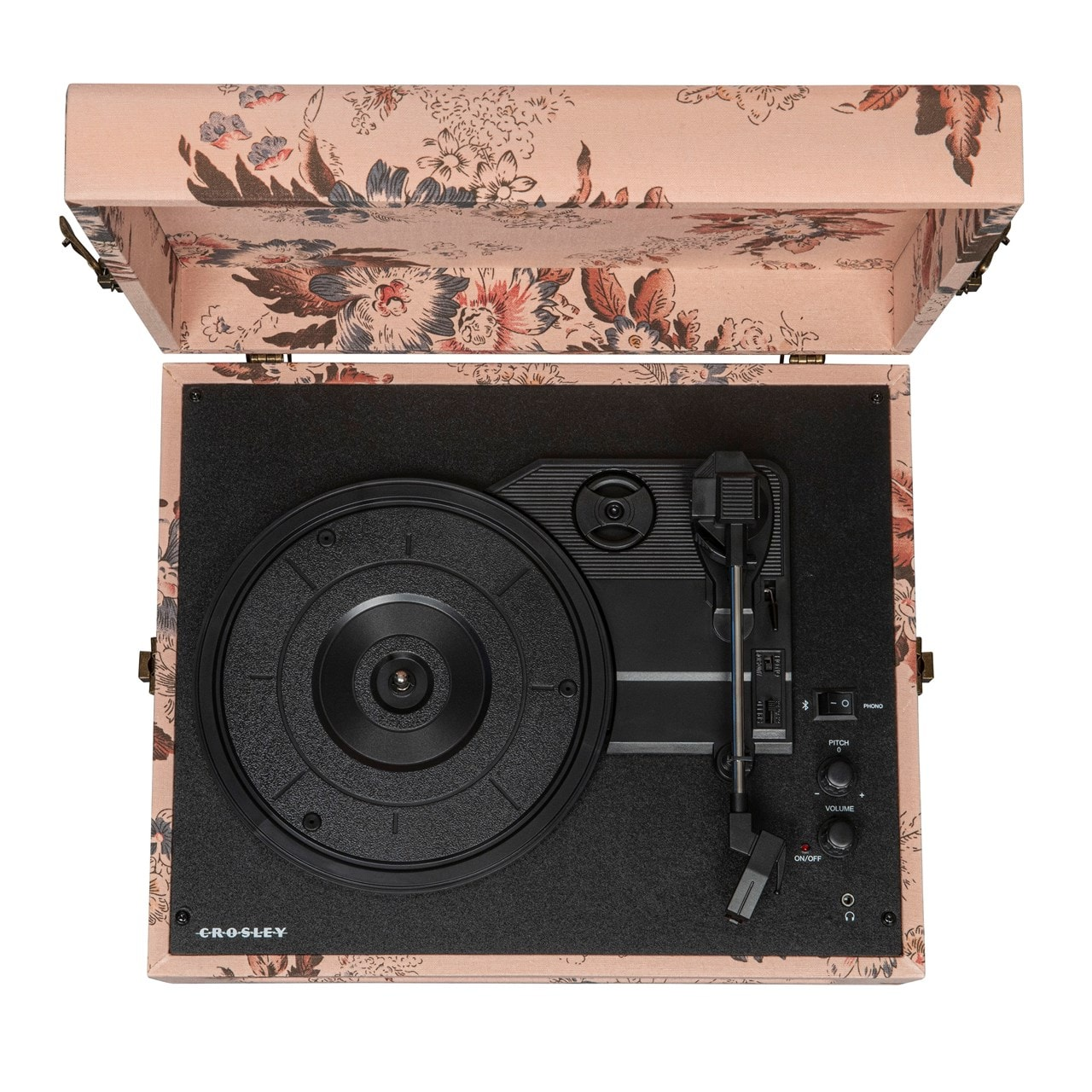 Crosley Voyager Floral Turntable - 6