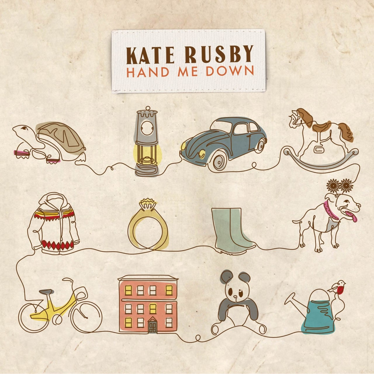 Hand Me Down Limited Edition Coloured Vinyl - 2