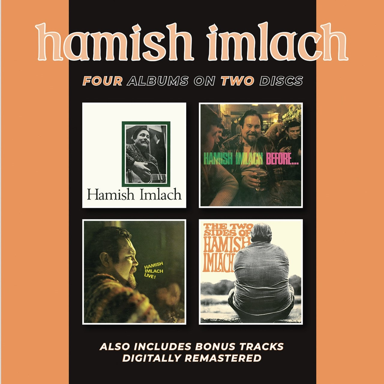 Hamish Imlach/Before and After/Live!/The Two Sides of Hamish I... - 1