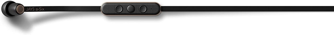 Jays A-Six Black/Gold Bluetooth Earphones - 3