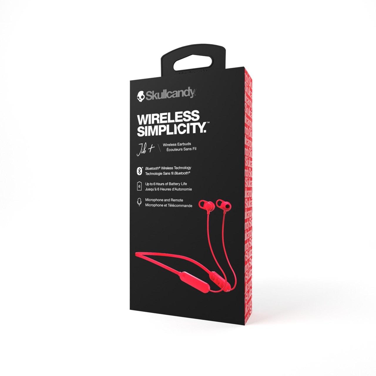 Skullcandy Jib+ Red Bluetooth Earphones - 3