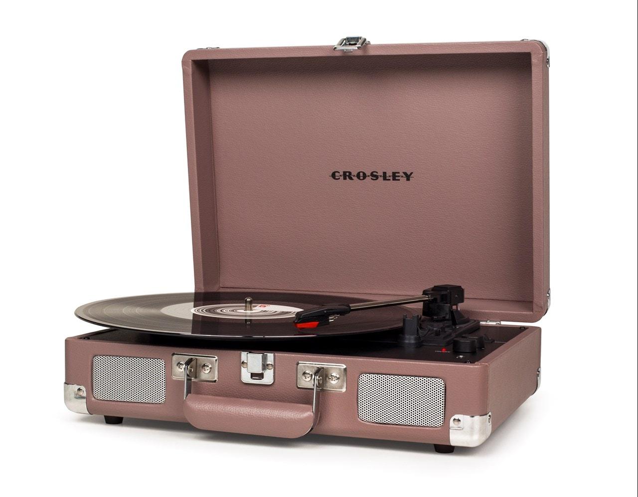 Crosley Cruiser Deluxe Purple Ash Turntable - 1