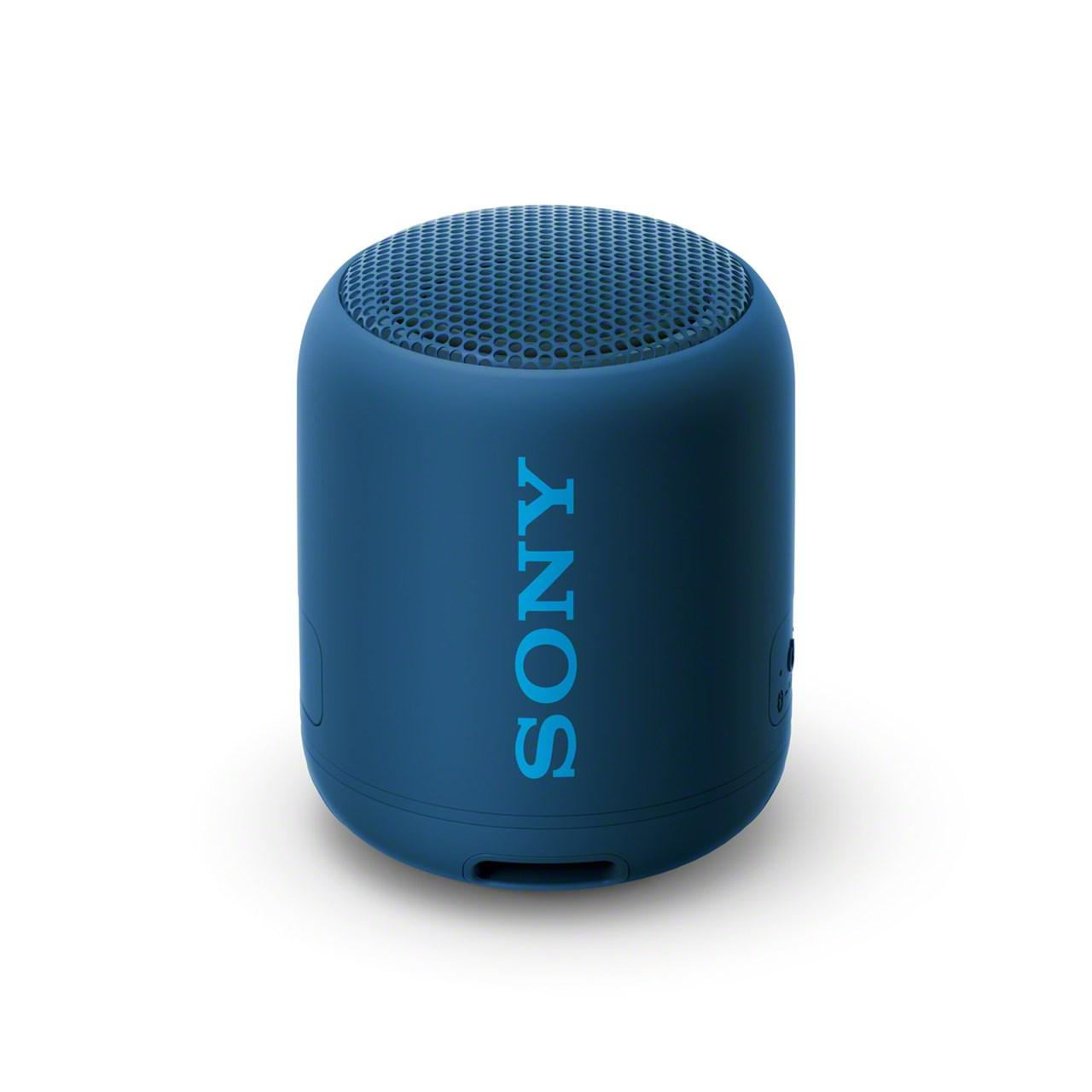 Sony SRSXB12 Blue Bluetooth Speaker - 1