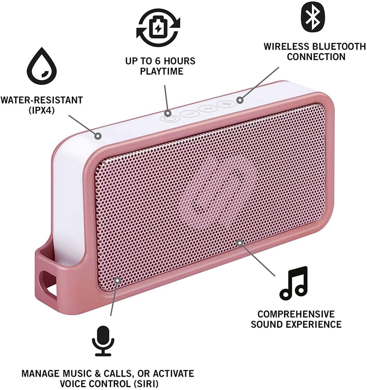 Urbanista Melbourne Rose Gold Bluetooth Speaker - 2