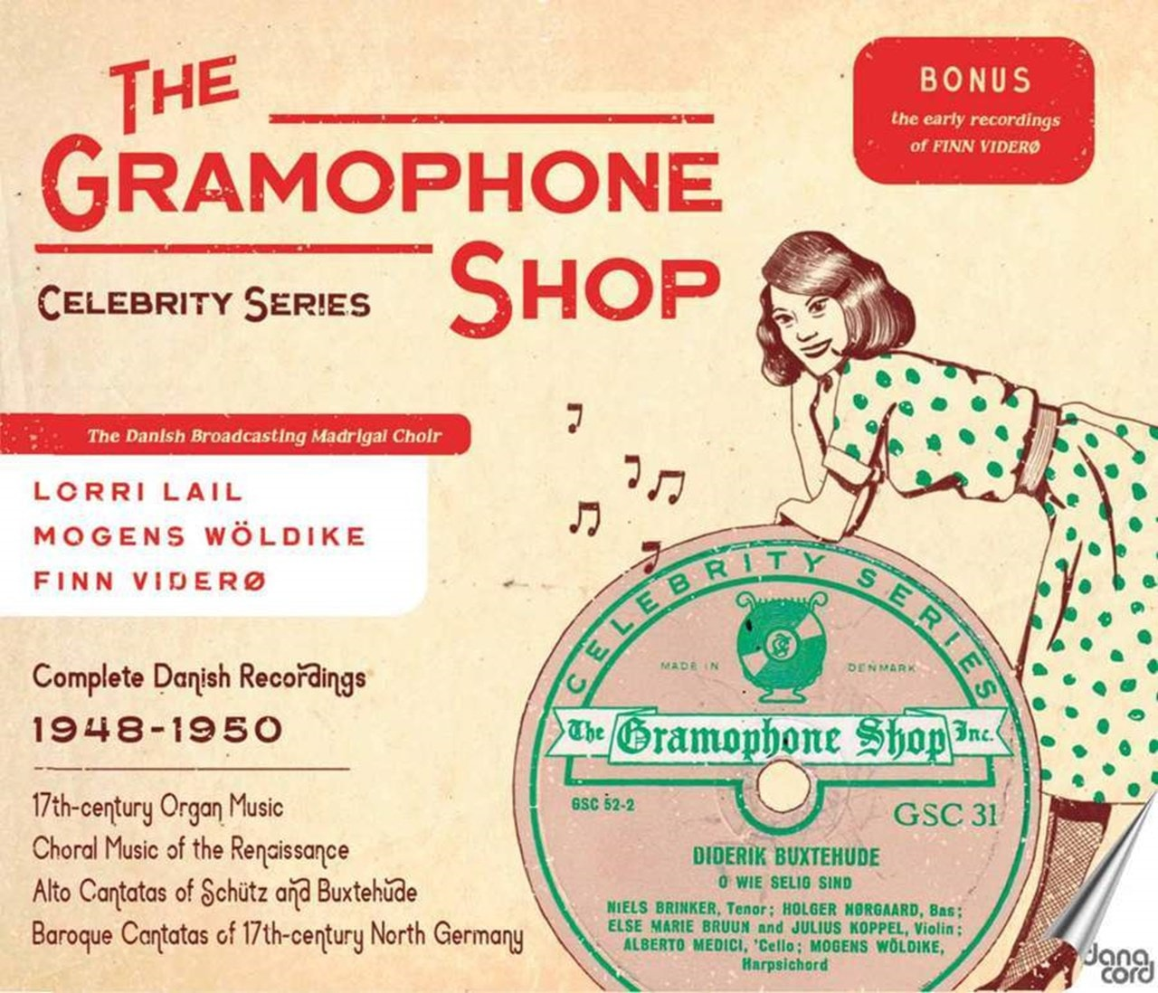 The Gramophone Shop: Celebrity Series: Complete Danish Recordings 1948-1950 - 1