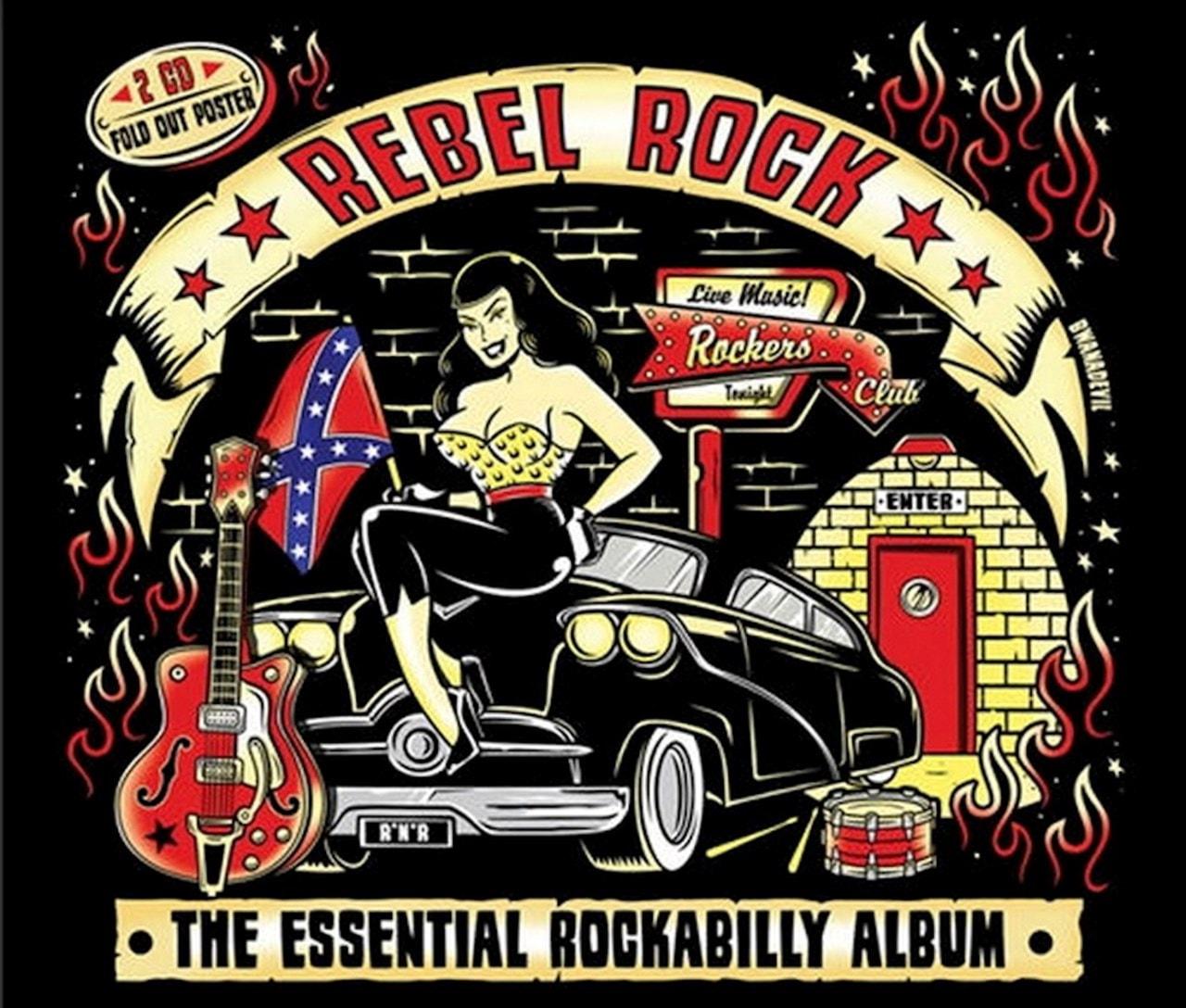 Rebel Rock: The Essential Rockabilly Album - 1