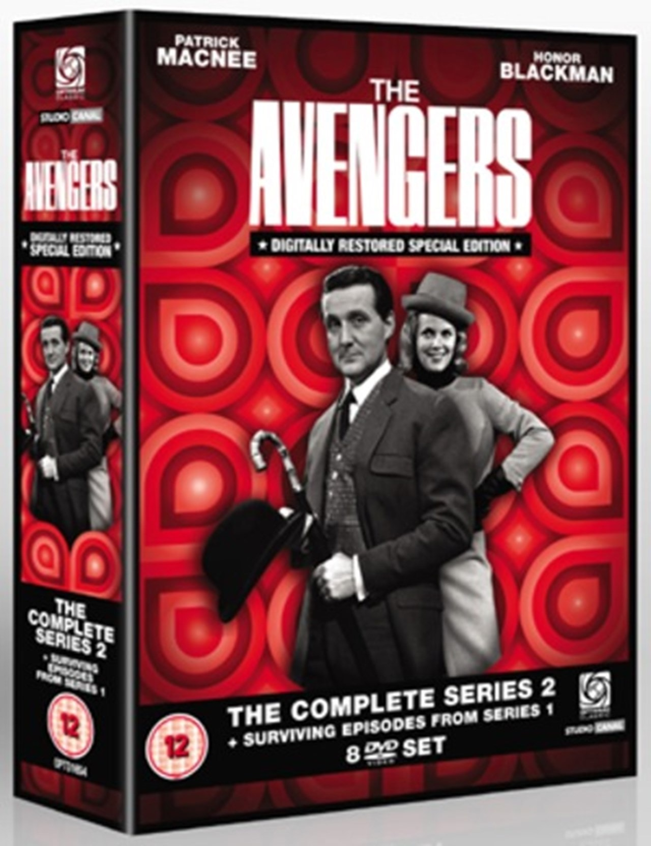 The Avengers: The Complete Series 2 and Surviving Episodes... - 1