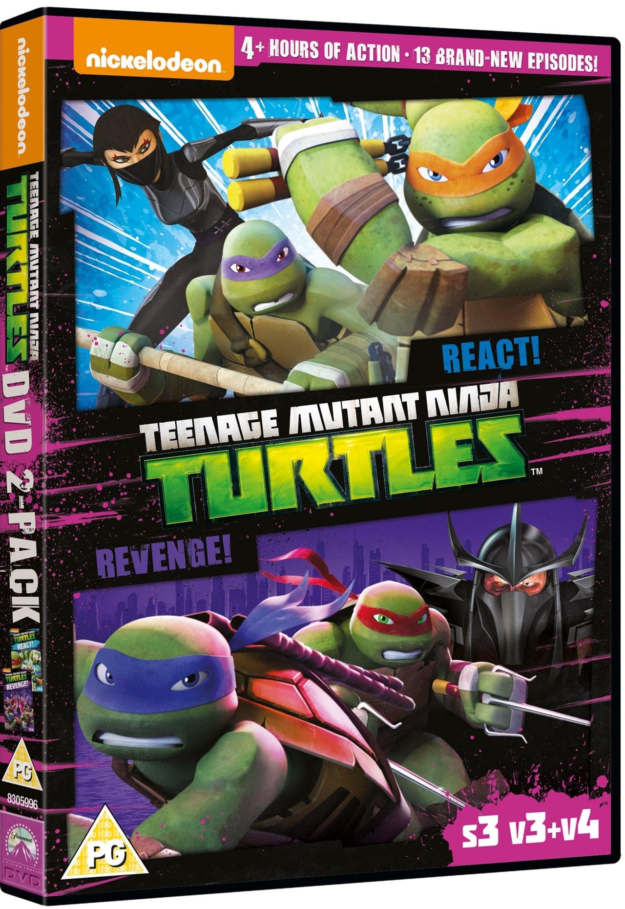 Teenage Mutant Ninja Turtles: React!/Revenge! - Season 3... - 2