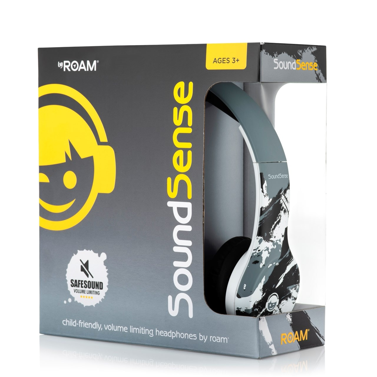 Roam Soundsense Grey Kids Headphones - 2