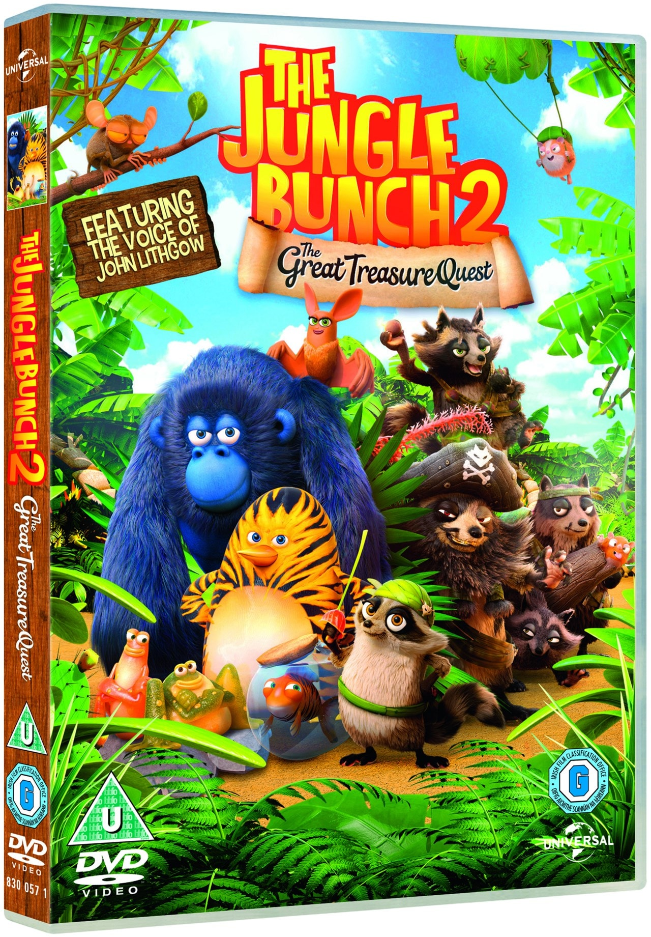The Jungle Bunch 2: The Great Treasure Quest - 2