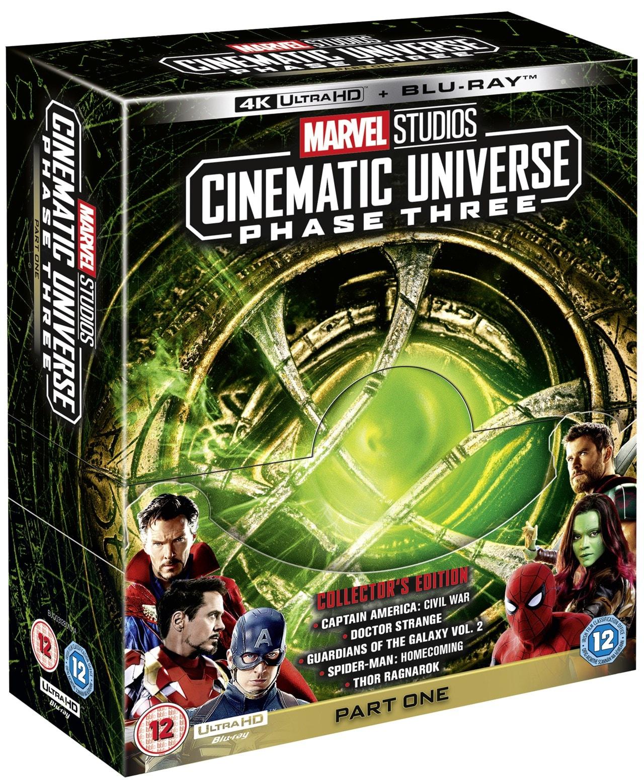 Marvel Studios Cinematic Universe: Phase Three - Part One - 2