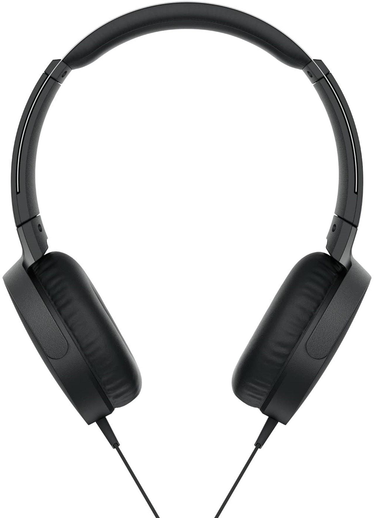 Sony XB550AP Black Extra Bass Headphones - 2