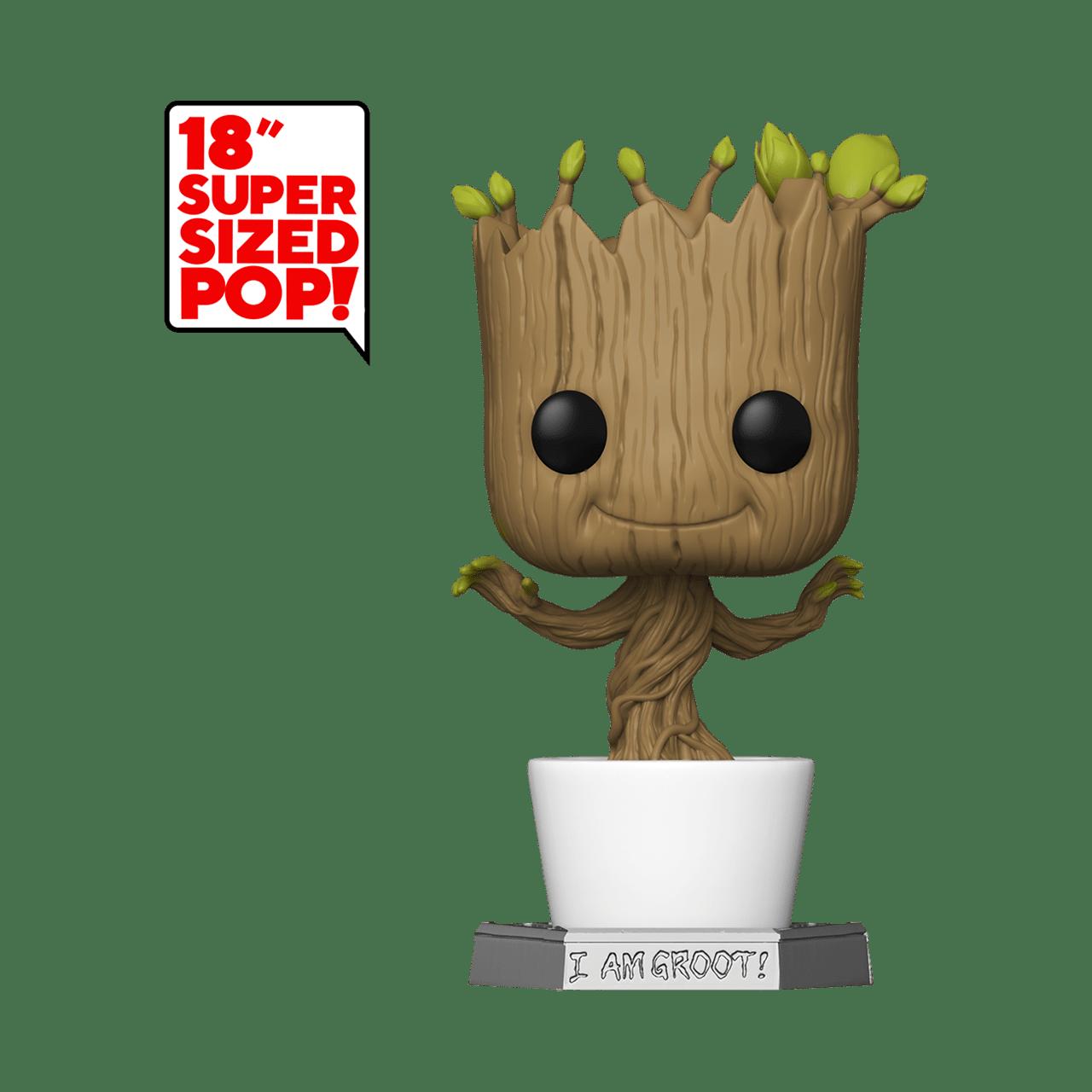 """18"""" Dancing Groot (01) Guardians Of The Galaxy: Marvel Pop Vinyl - 1"""