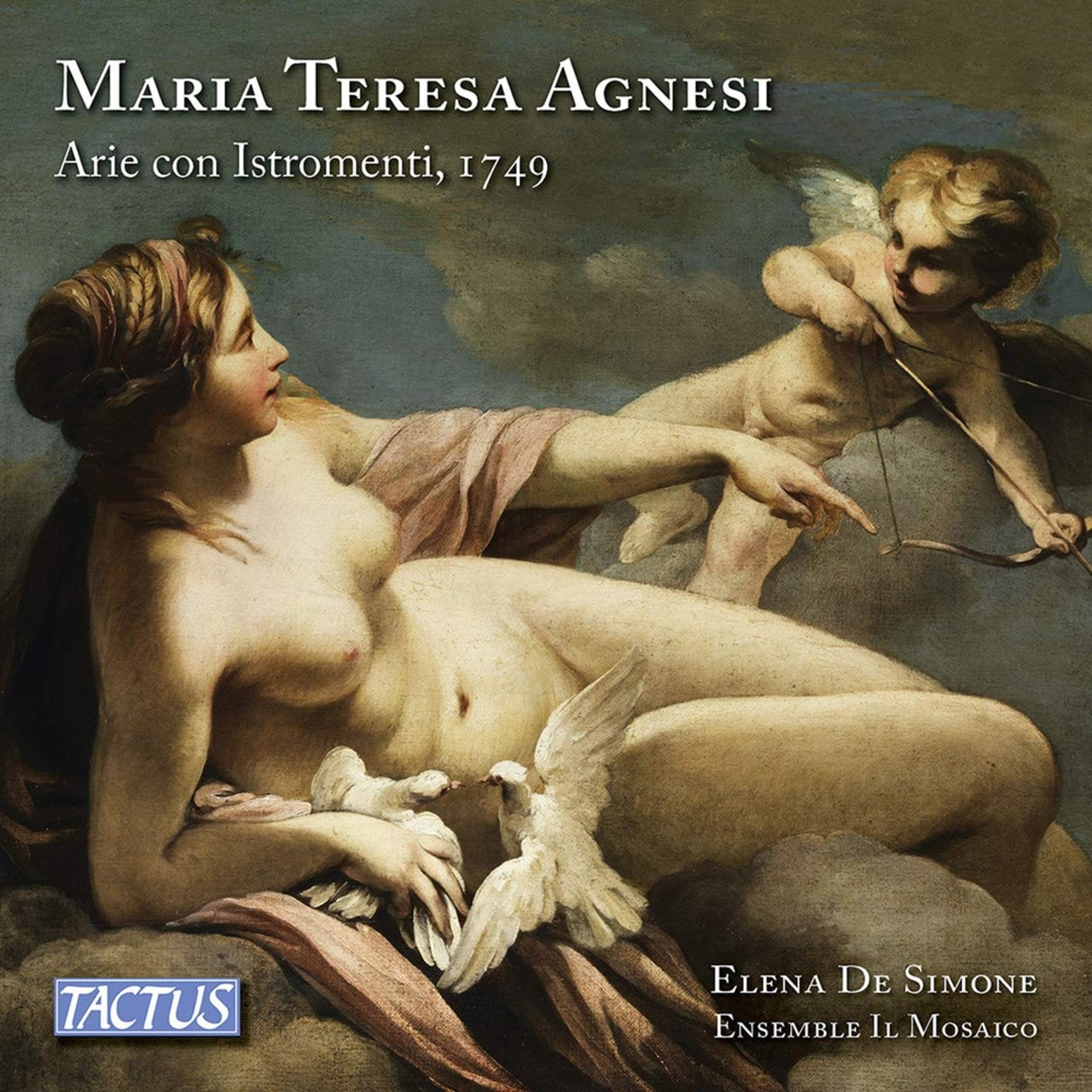 Maria Teresa Agnesi: Arie Con Istromenti, 1749 - 1