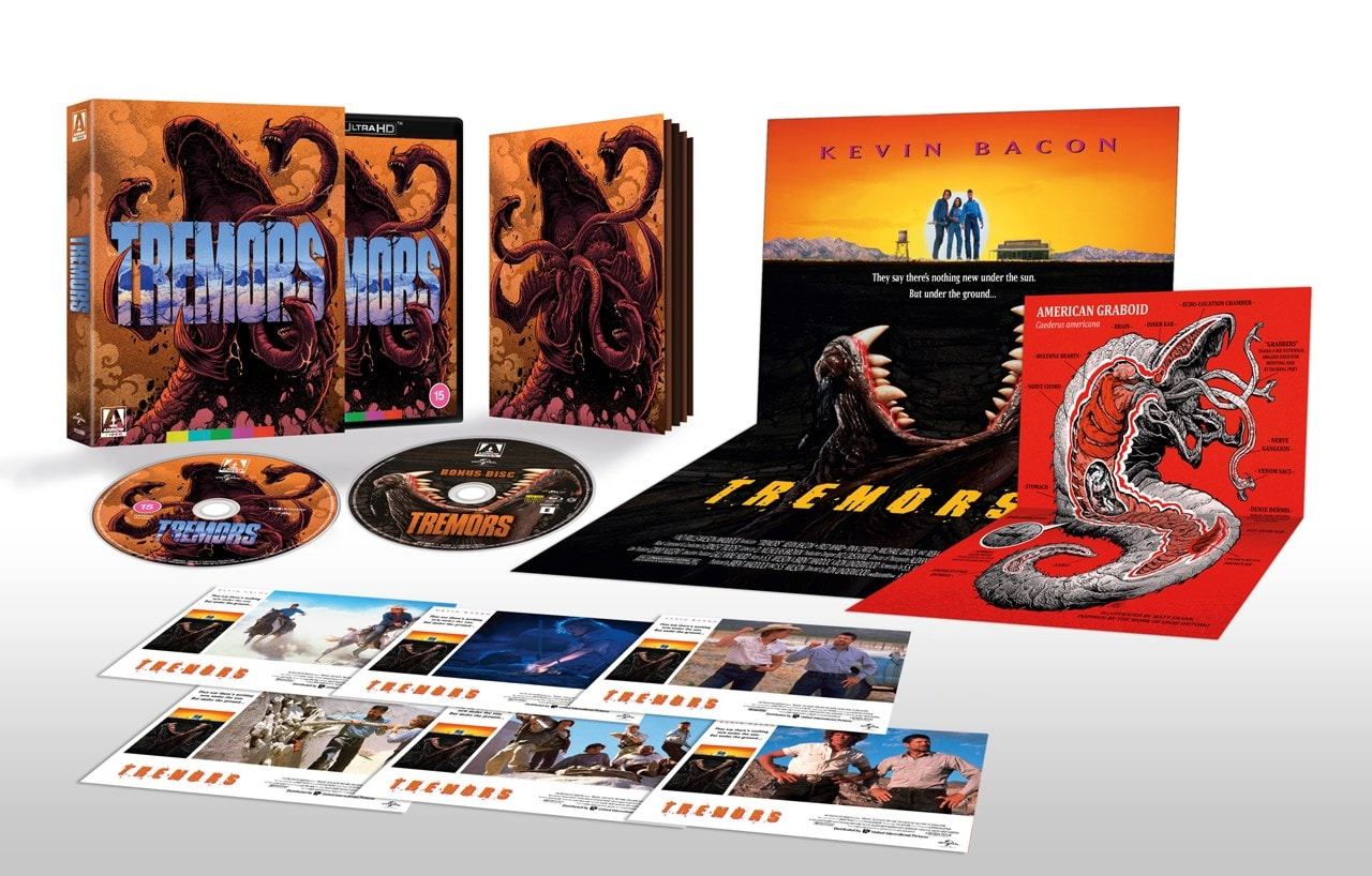 Tremors 4K Ultra HD Limited Edition - 1