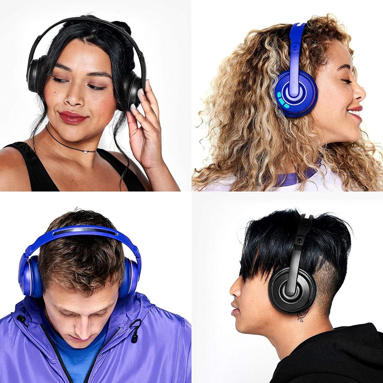 Skullcandy Cassette Retro Surf Purple Bluetooth Headphones - 5