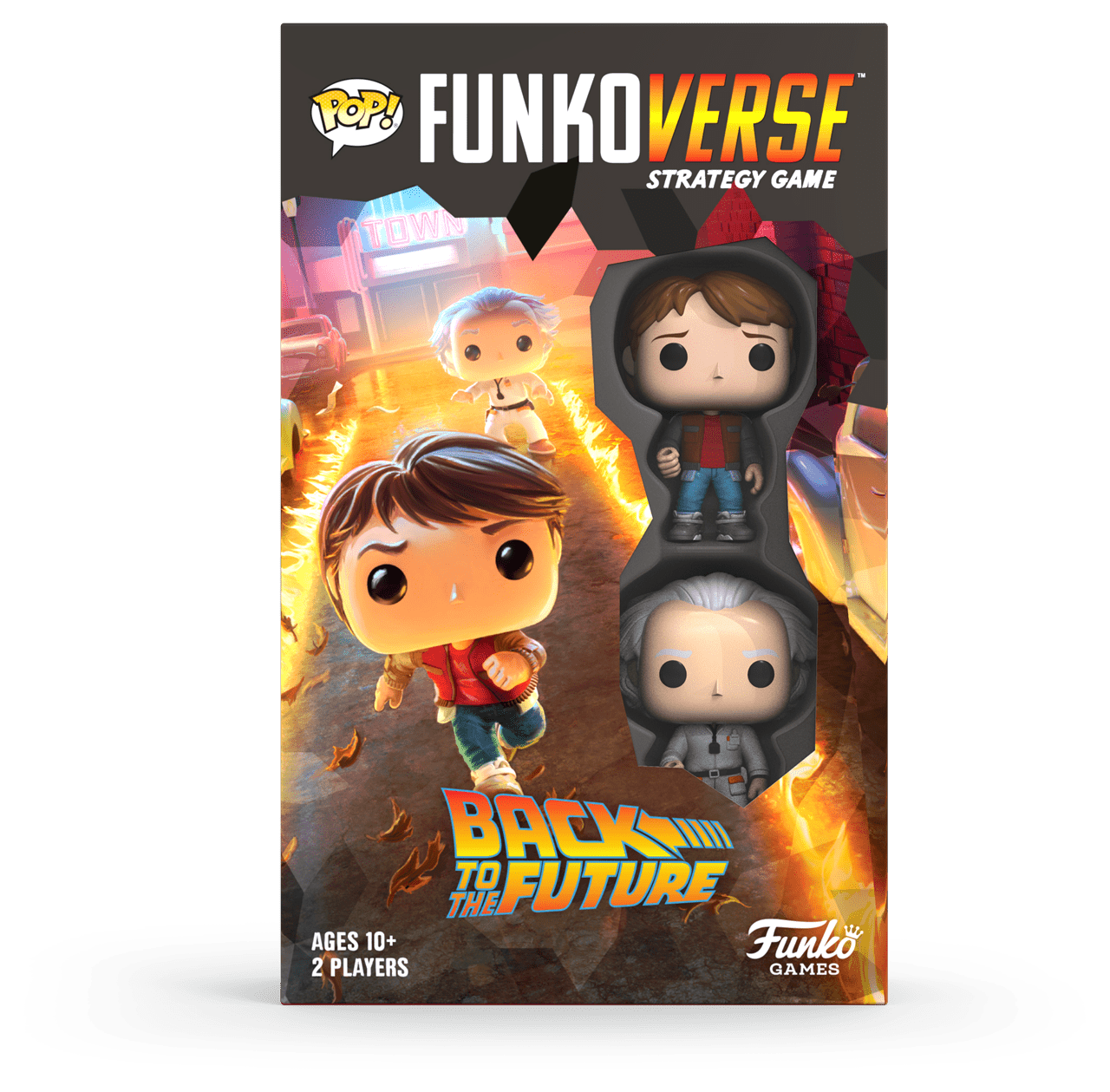 Funkoverse: Back To The Future - 100 Expandalone Strategy Game - 4