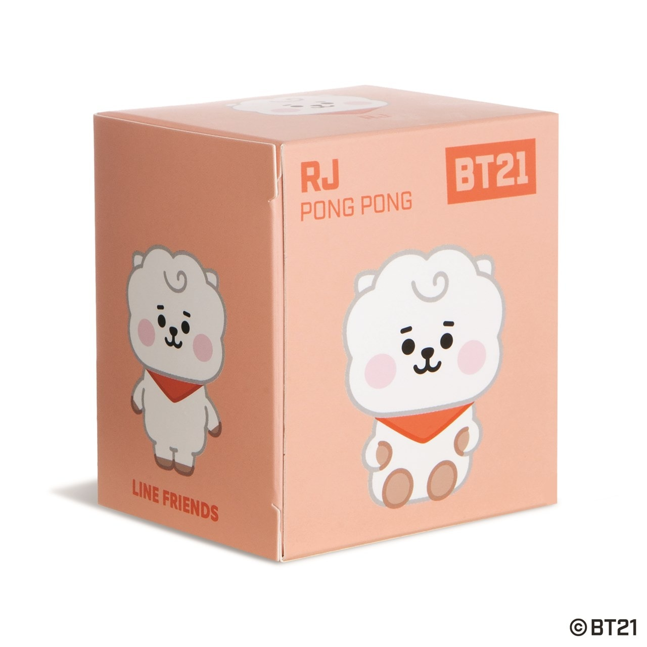 RJ Baby Pong Pong: BT21 Soft Toy - 3