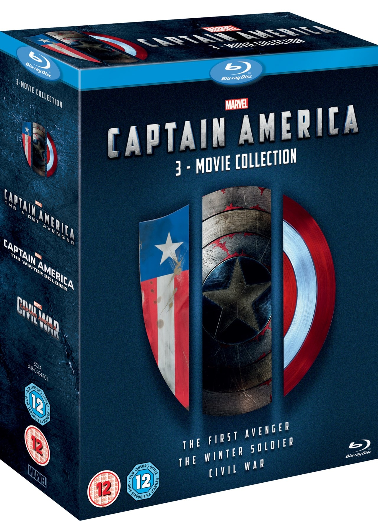 Captain America: 3-movie Collection - 2