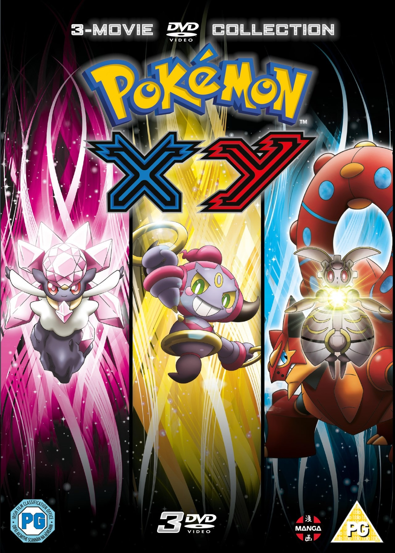 Pokemon: The Movie Collection 17-19 - XY - 1