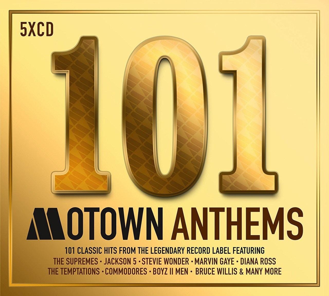 101 Motown Anthems - 1