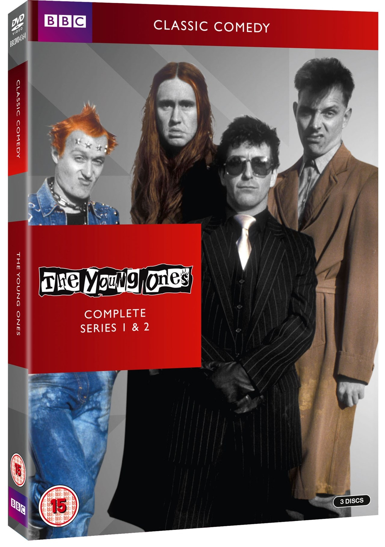 The Young Ones Complete Series 1 2 Hmv Exclusive Dvd Box Set Free Shipping Over 20 Hmv Store
