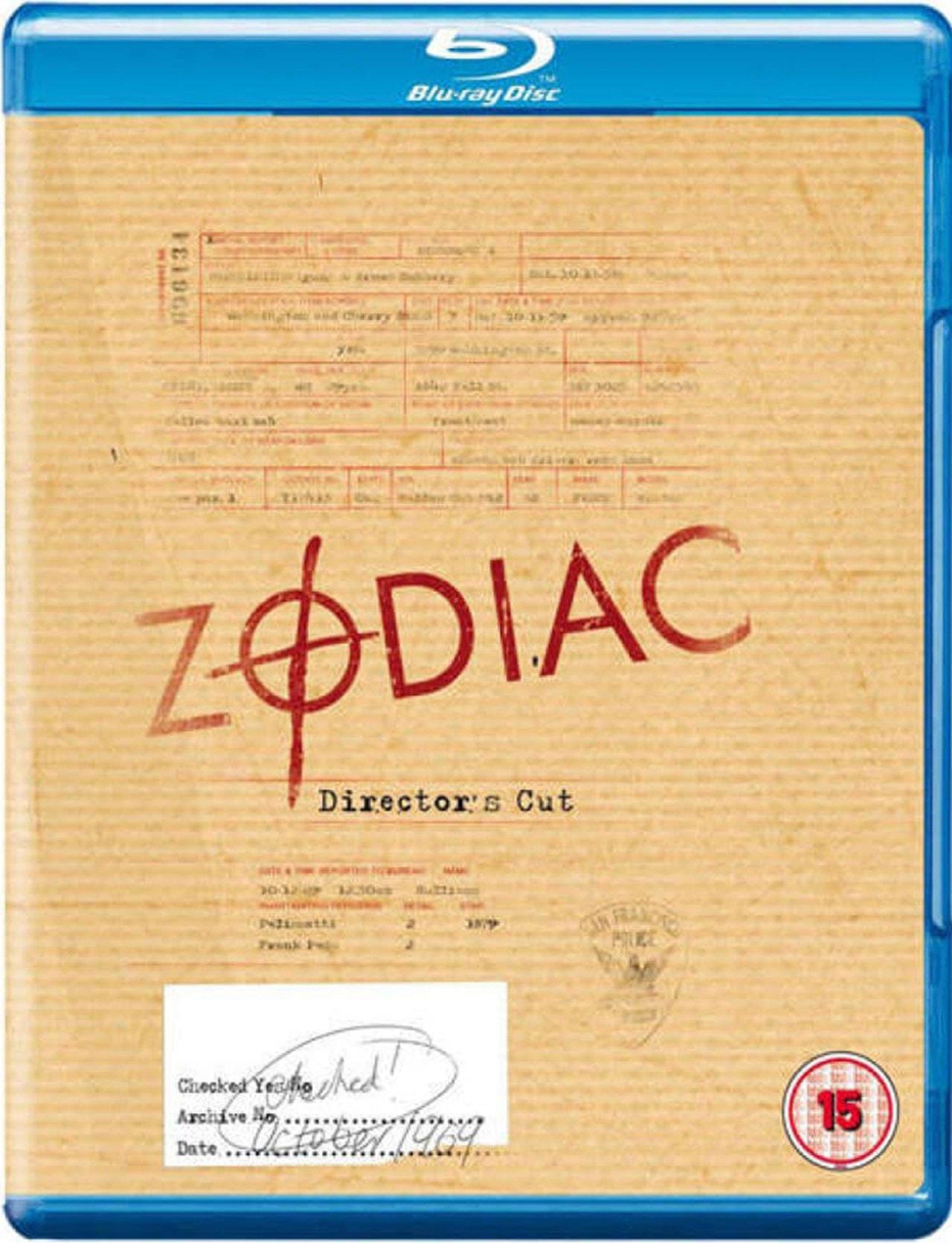 Zodiac: Director's Cut - 1