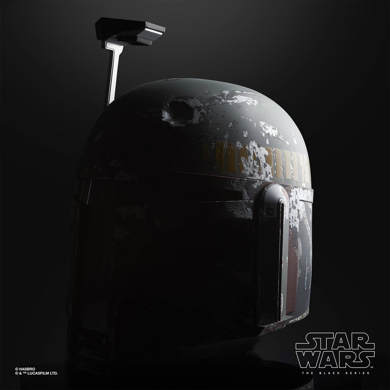 Boba Fett Electronic Helmet: Star Wars Black Series - 7