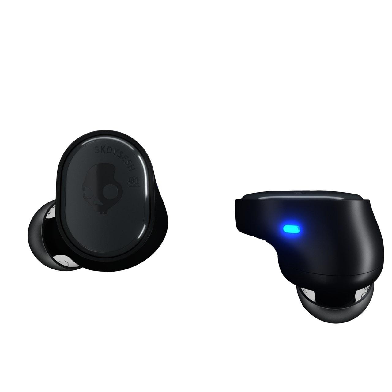 Skullcandy Sesh Black True Wireless Bluetooth Earphones - 3
