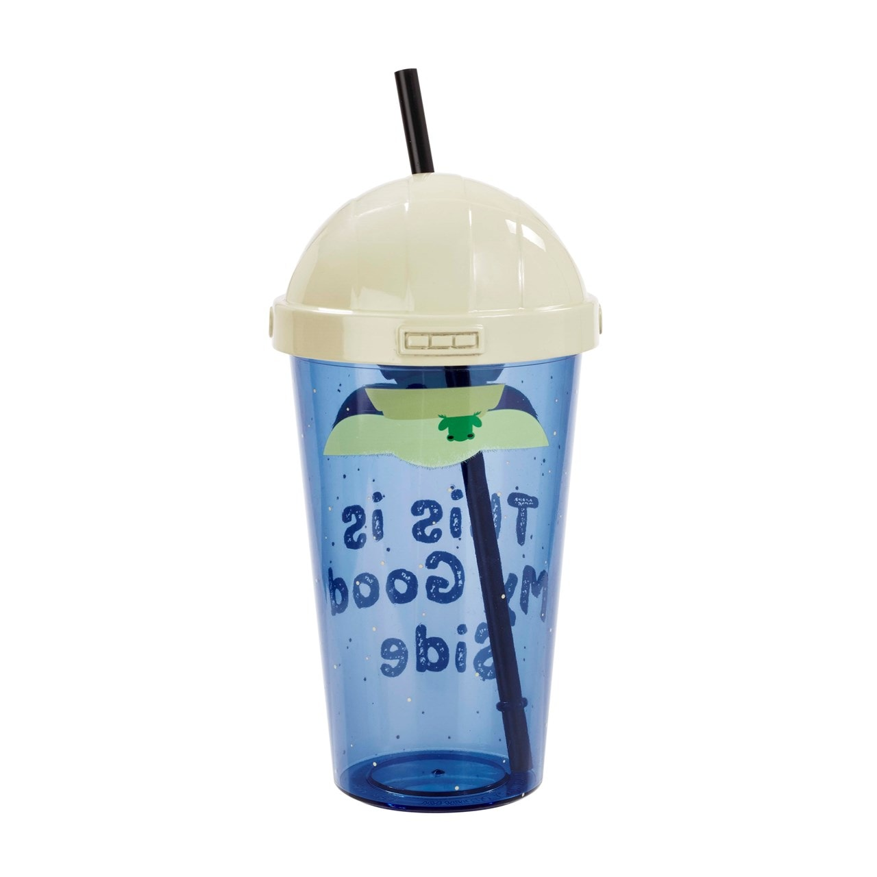 The Child: This Is My Good Side: The Mandalorian Travel Cup with Straw - 3