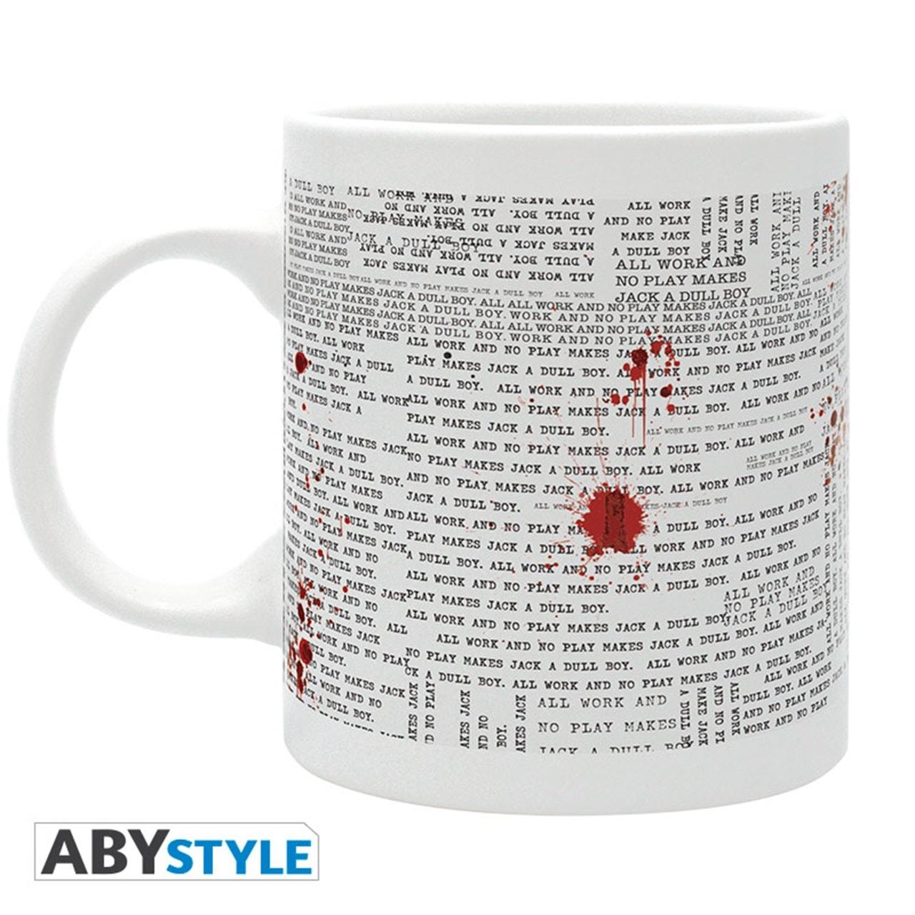 The Shining: Typewriter Mug - 2