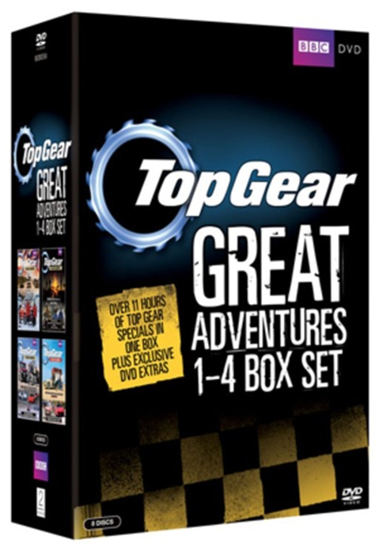 Top Gear - The Great Adventures: 1-4 - 1