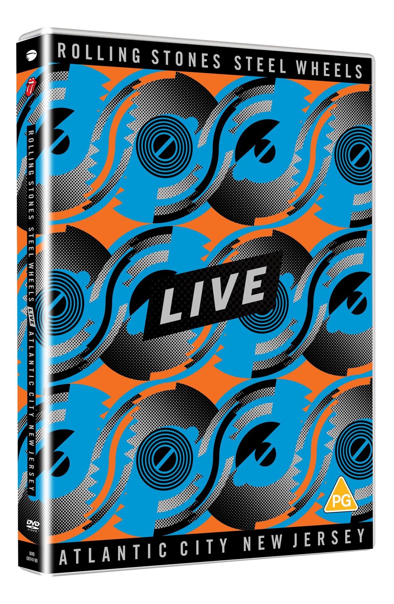 The Rolling Stones: Steel Wheels Live - Atlantic City, New Jersey - 1