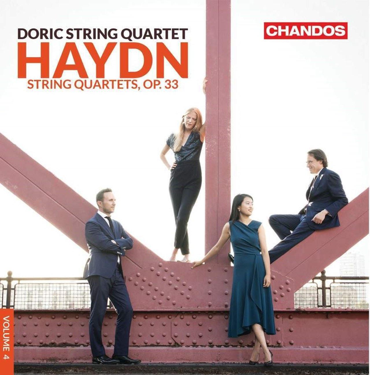 Haydn: String Quartets, Op. 33 - Volume 4 - 1