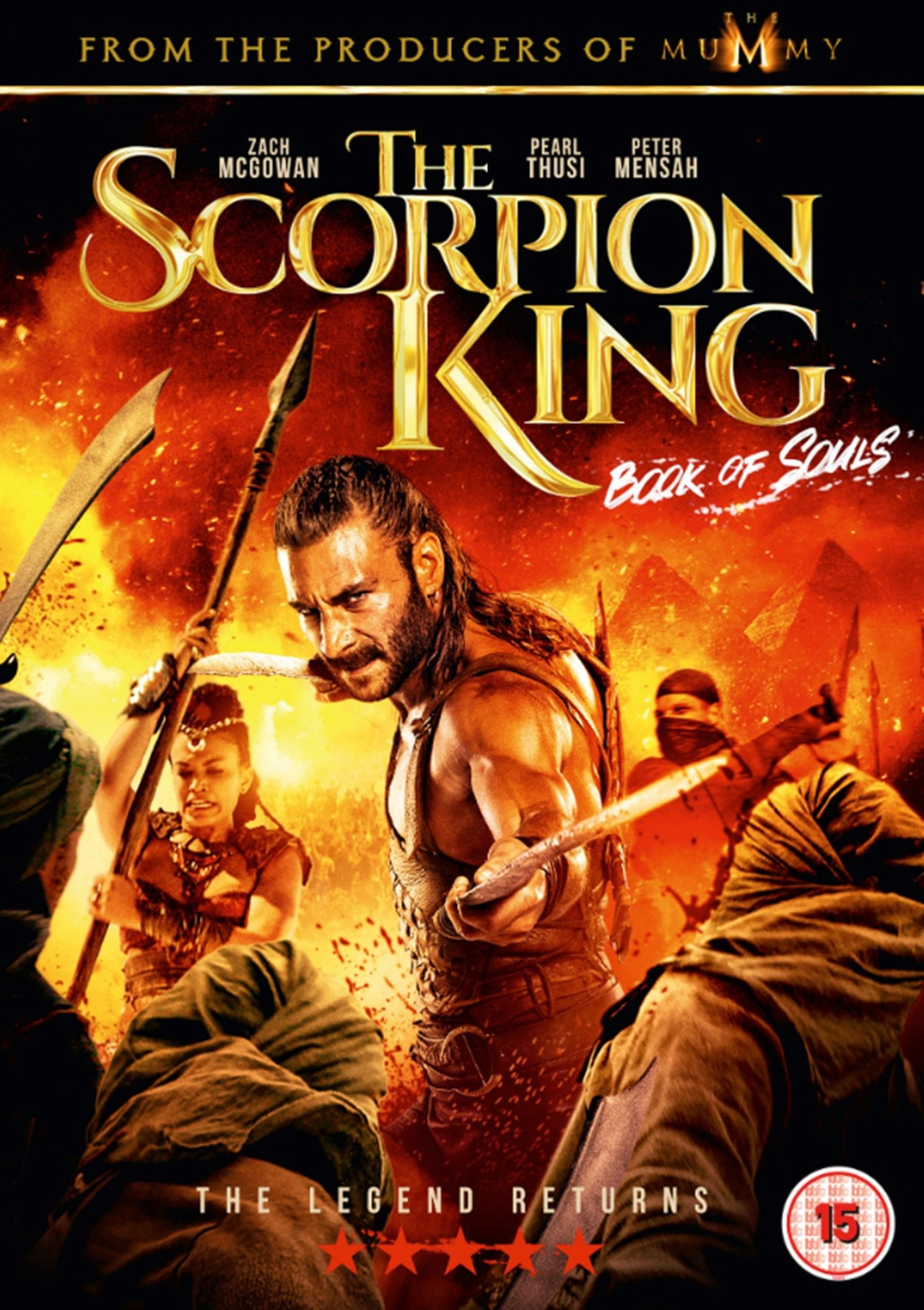 The Scorpion King - Book of Souls - 1