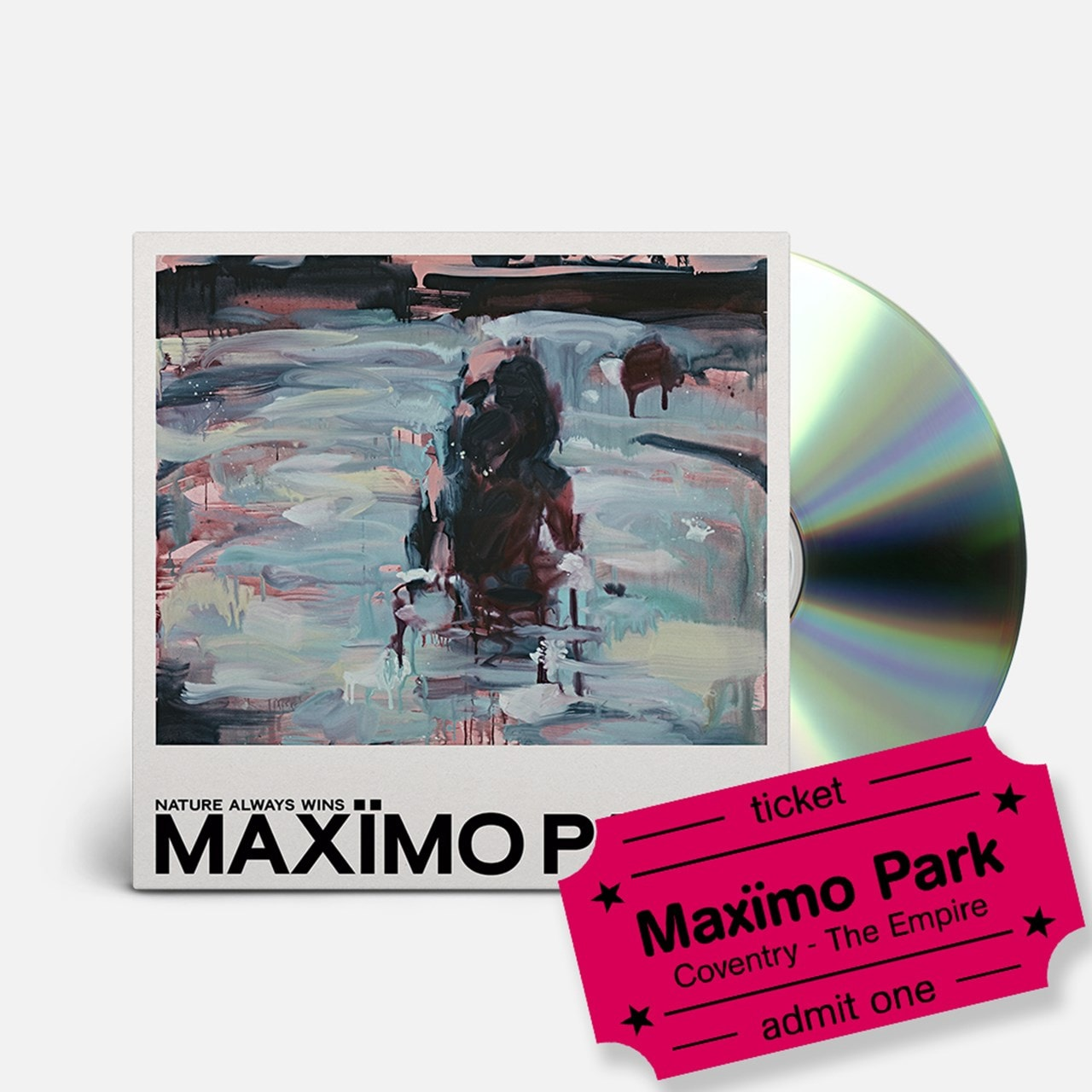 Maximo Park - Nature Always Wins - CD & Coventry Empire Event Entry - 1