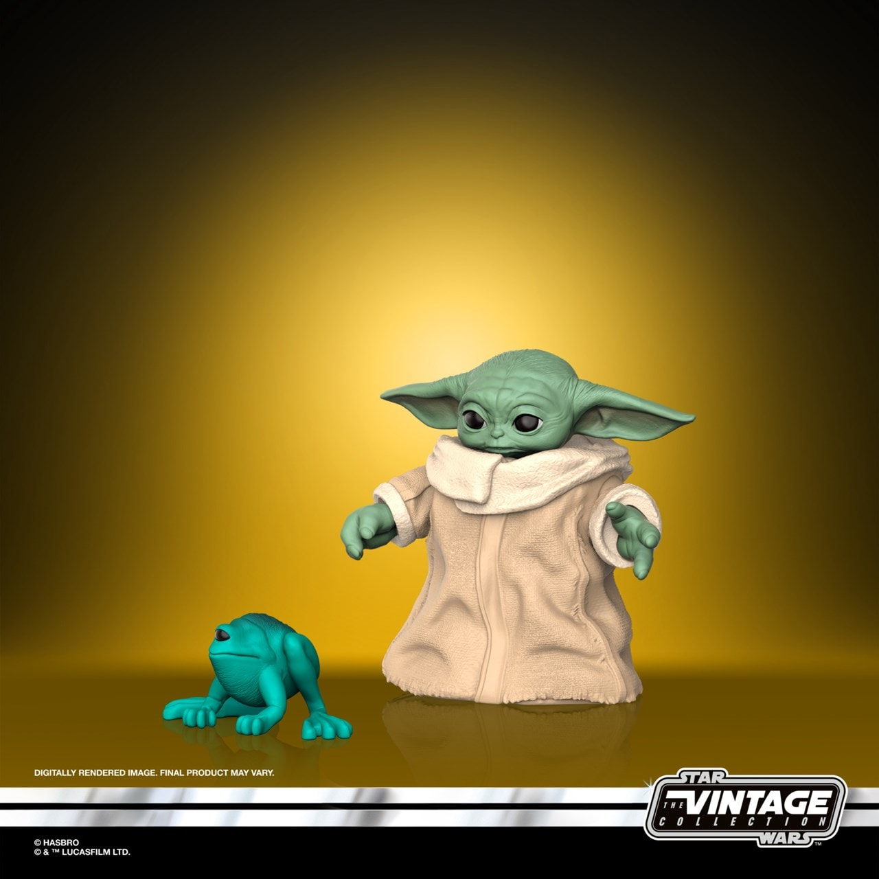 The Child (Baby Yoda): The Mandalorian: Star Wars Vintage Collection Action Figure - 4