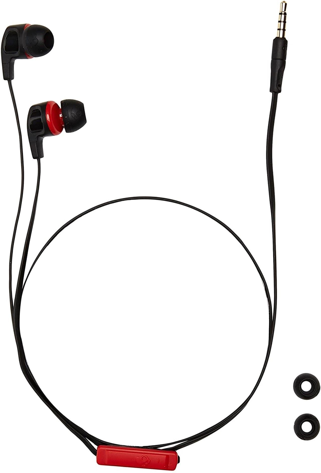 Skullcandy Smokin Buds 2.0 Black/Red Earphones - 2