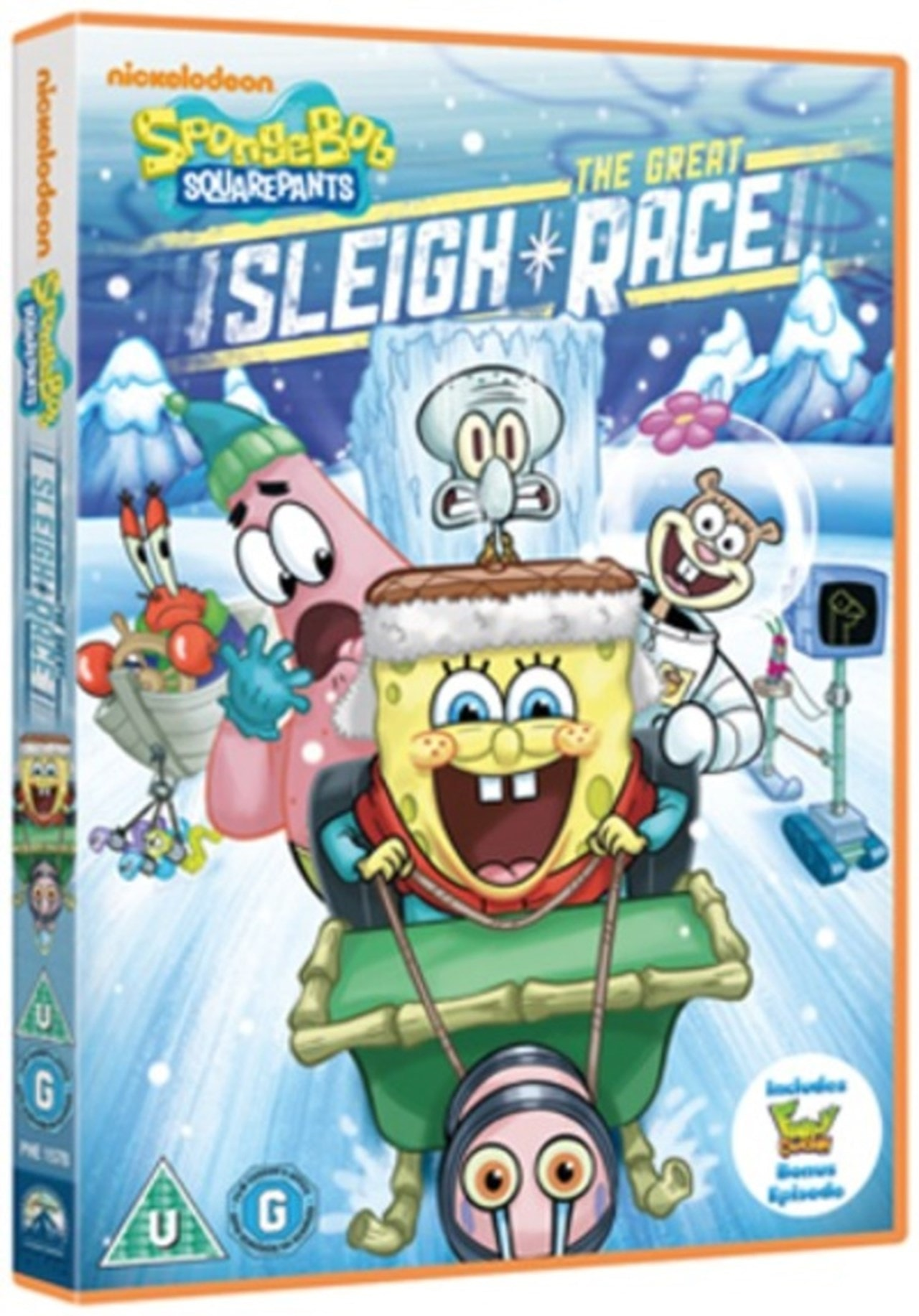 SpongeBob Squarepants: The Great Sleigh Race - 1