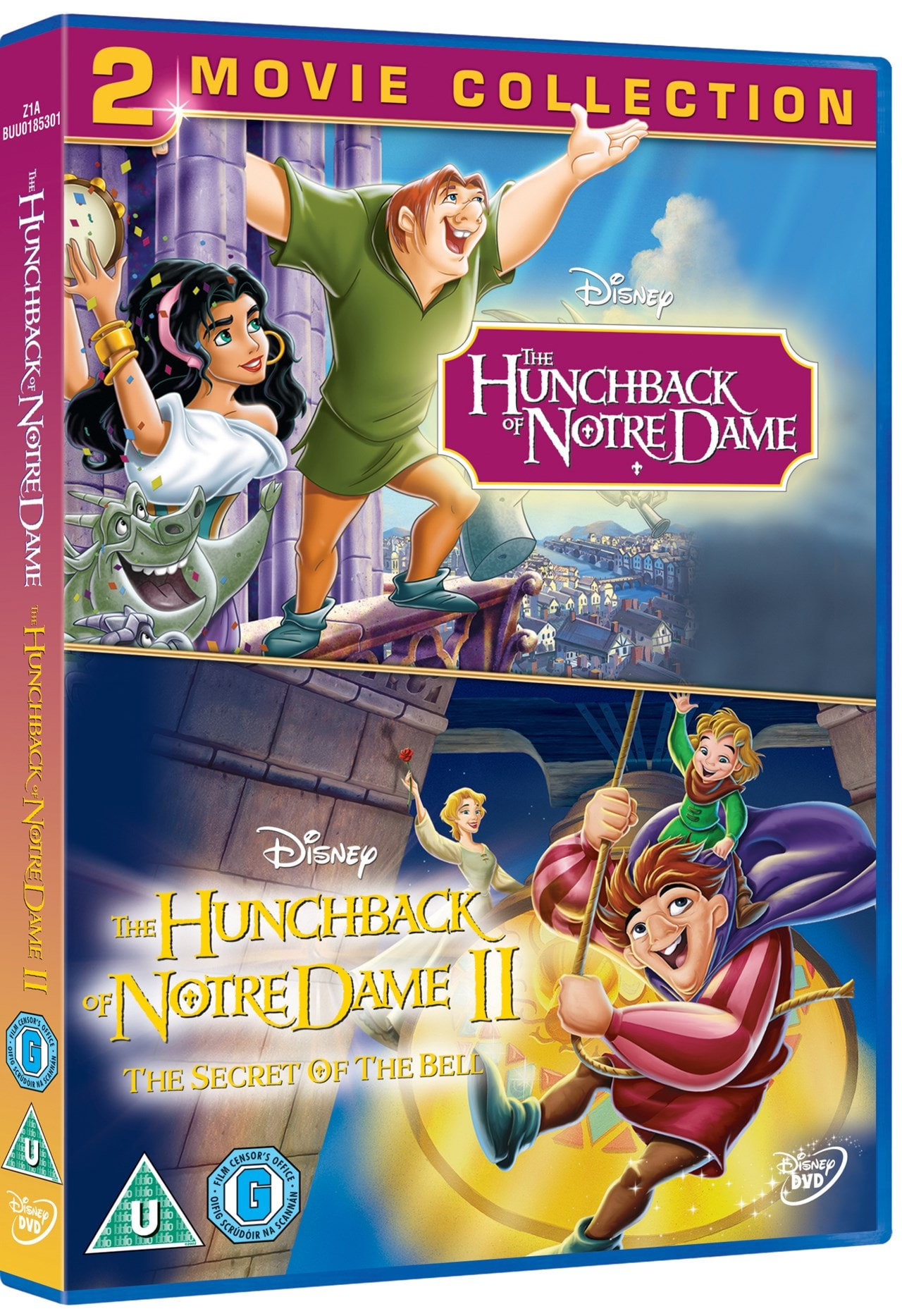 The Hunchback of Notre Dame: 2-movie Collection - 2