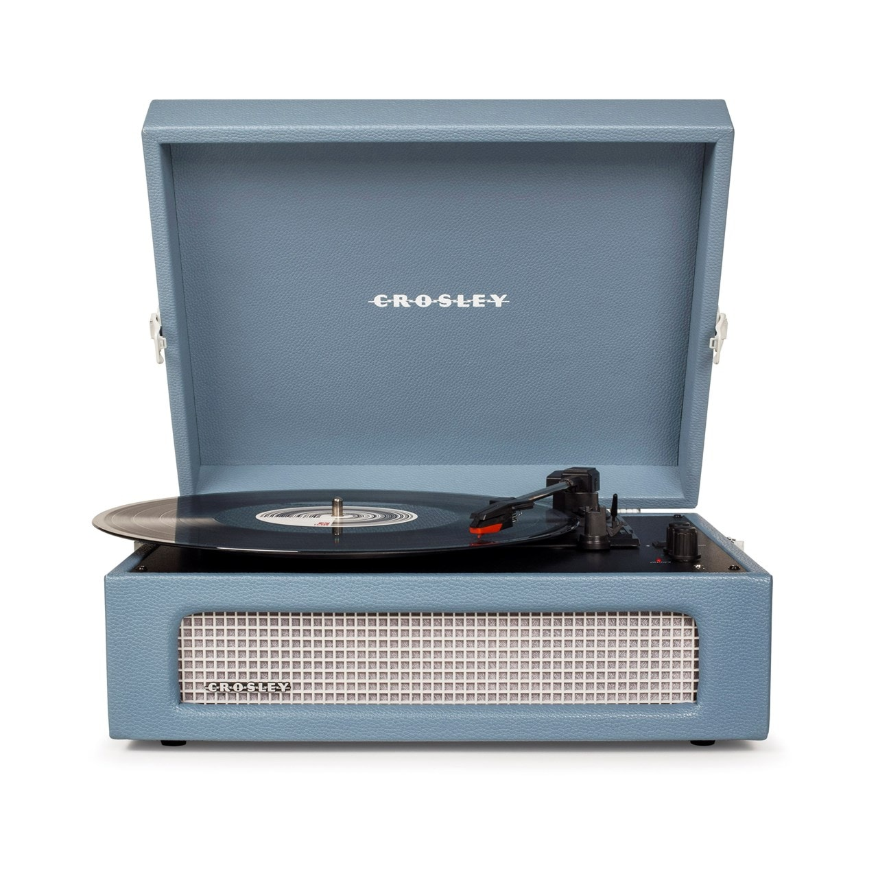 Crosley Voyager Washed Blue Turntable - 1