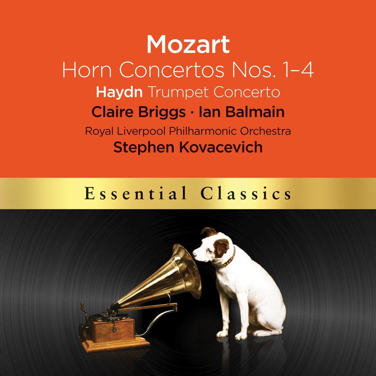 Mozart: Horn Concertos Nos. 1-4/Haydn: Trumpet Concerto - 1