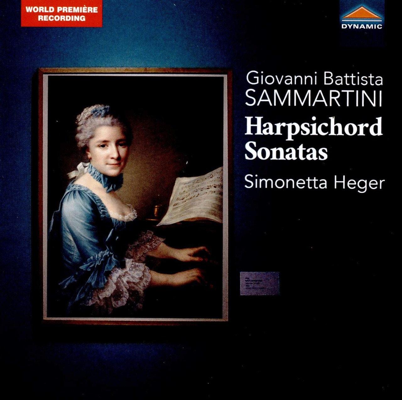 Giovanni Battistan Sammartini: Harpsichord Sonatas - 1