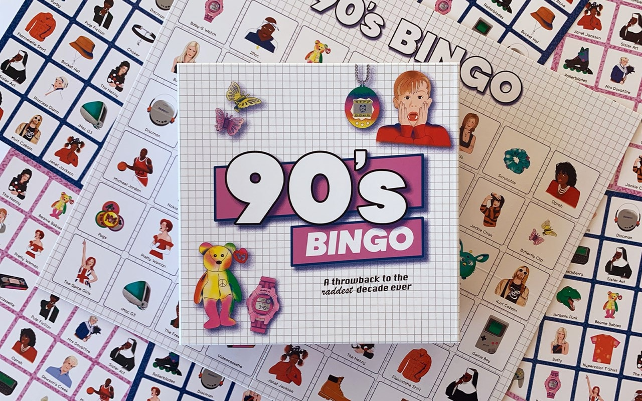 90'S Bingo: Throwback To The Raddest Decade Ever Board Game - 1