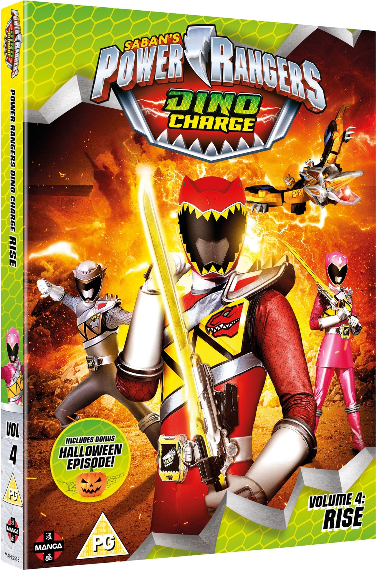 Power Rangers Dino Charge: Volume 4 - Rise - 2